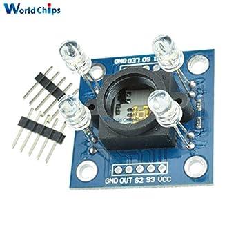 Fevas TCS230 TCS3200 Detector Module Color Recognition Sensor for Arduino Best: Amazon.com: Industrial & Scientific