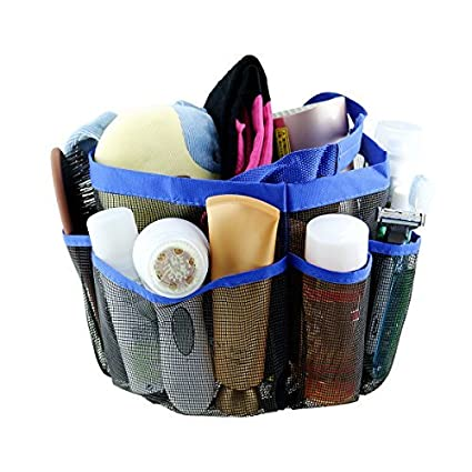 Amazon.com: Samyoung Mesh Shower Caddy, Quick Dry Portable Shower ...