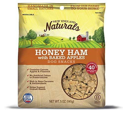 New England Naturals Honey Ham w/Baked Apples Dog Snacks ()