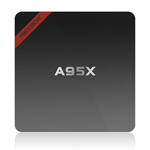 9 opinioni per Docooler NEXBOX A95X Smart Android TV Box AMLOGIC S905X Quad core 64bit UHD 4K