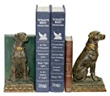 Sterling Home 91-2629 Pair of Bookends, Chocolate Labrador Retriever, 7-Inch Tall