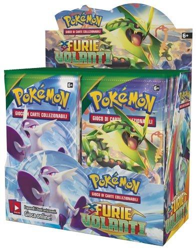 Furie Volanti - Display 36 buste Pokémon (IT)