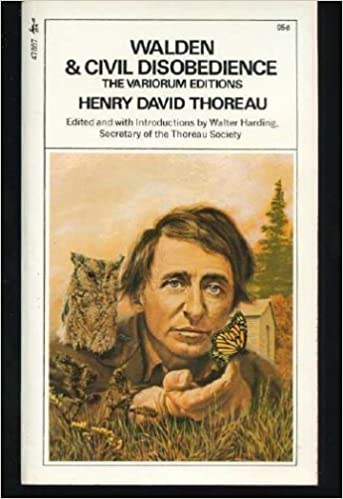 Book Walden & Civil Disobedience - The Variorum Editions by Henry David Thoreau (1972-08-01)