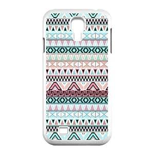 Cool PaintingFashion Cell phone case Of Aztec Tribal Bumper Plastic Hard Case For Samsung Galaxy S4 i9500 wangjiang maoyi