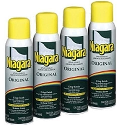 Niagara Original Spray Starch Crisp Finish, Sharp Look 20 ounces (4 Pack)