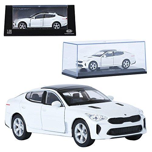 - Pino 1:38 KIA Stinger Snow White Display Mini Car