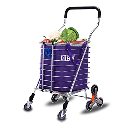 1b12452d5196 Shopping Carts Shopping Cart Foldable Trolleys Portable Commercial ...