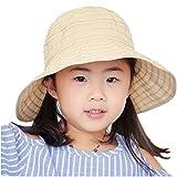 WENDYWU Baby & Toddler Flap Sun Protection Swim Summer Hat Baby Sun Hat (Beige 1)