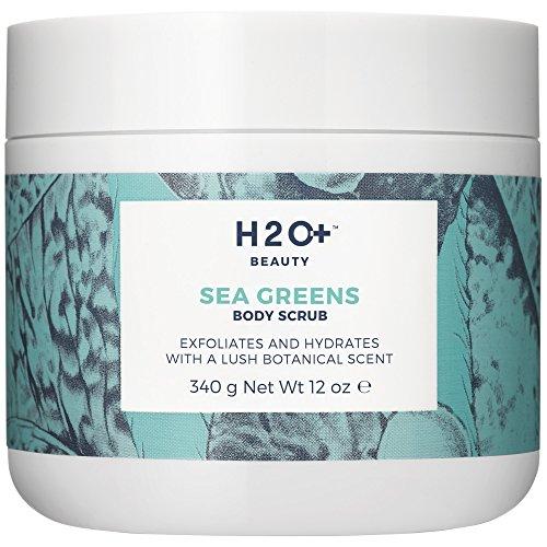 H2O+ Beauty Body Scrub, Sea Greens Skin Softening Exfoliator by H2O+ Beauty, 12 Ounce