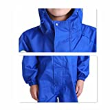 JiAmy Kids Baby One Piece Rain Suit Waterproof