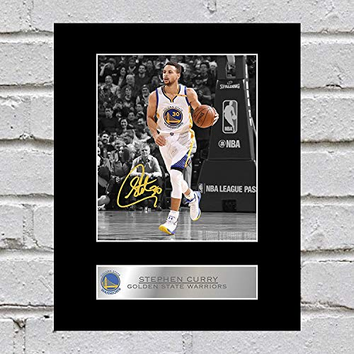 db22cb9e8778 iconic pics Stephen Curry Signed Mounted Photo Display Golden State Warriors