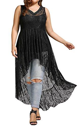 high low hem maxi dress - 2