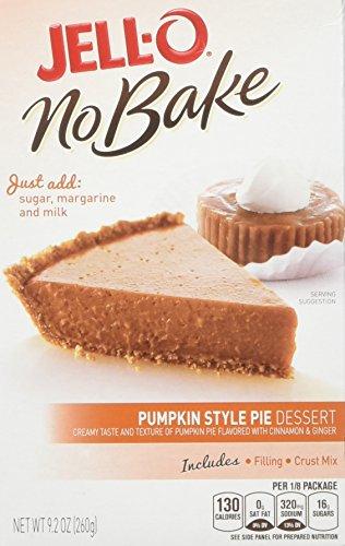 Pumpkin Pudding Shots (JELL-O Pumpkin Pie No Bake Dessert Mix (9.2 oz Boxes, Pack of)