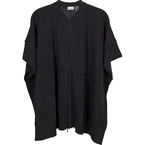 kinross-cashmere-zip-front-poncho-one-size-charcoal