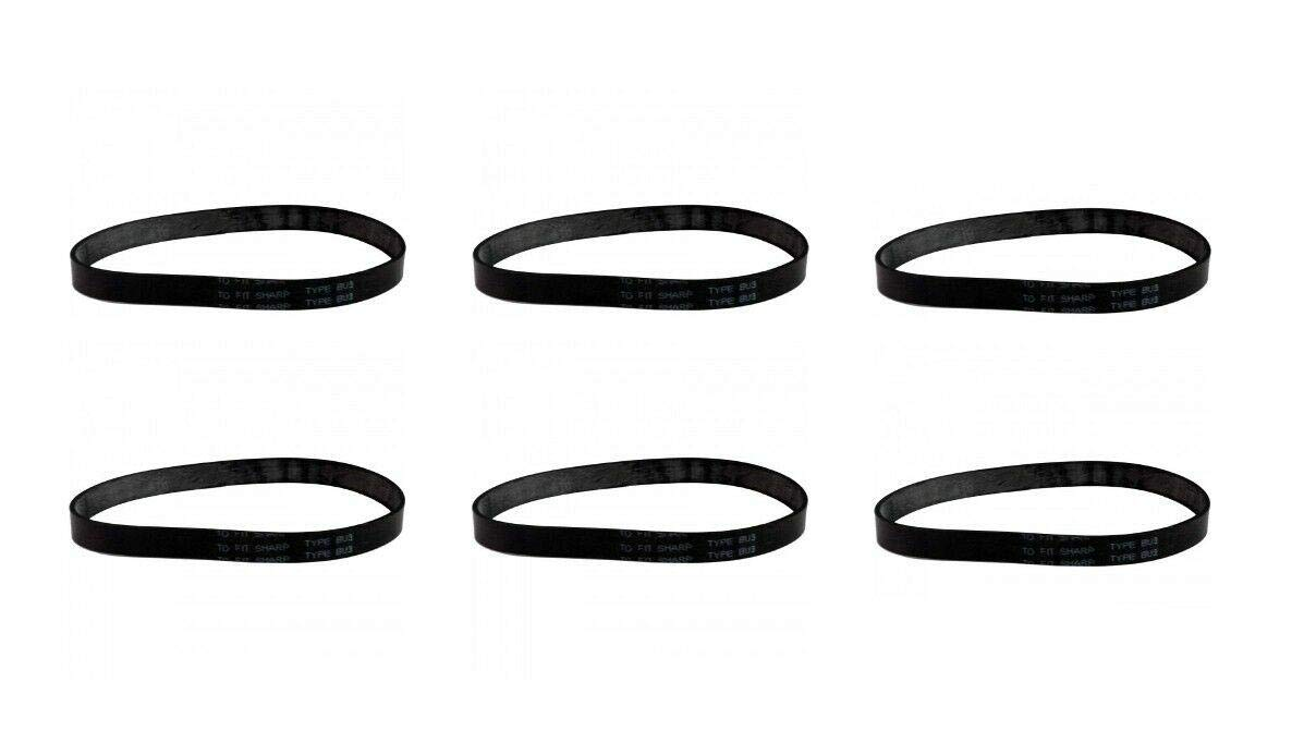 (Vacuum Parts) (6) Sharp EC12TWT4 Vacuum Cleaner Belt - New