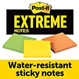 Post-it Extreme Notes, Green, Orange, Yellow,...
