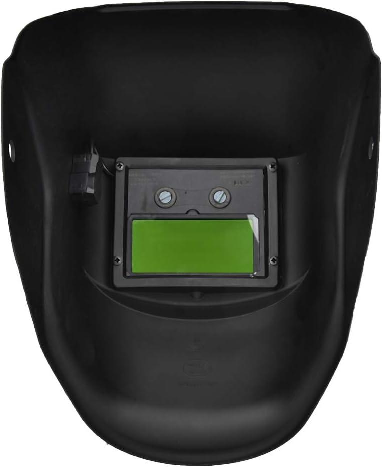 M/áscara protectora de oscurecimiento autom/ático del casco de la soldadura de la energ/ía solar con la gama ajustable de la sombra de la lente amplia