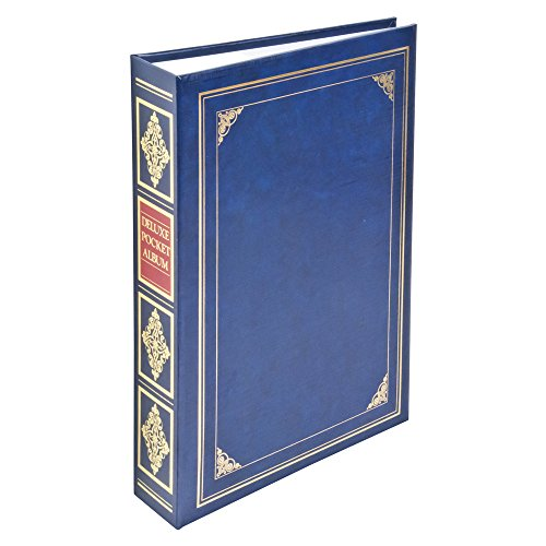 Nakabayashi Photo Album, Blue (Plastic)