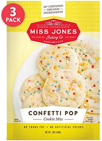 Baking Mixes: Miss Jones Baking Confetti Pop Cookie Mix