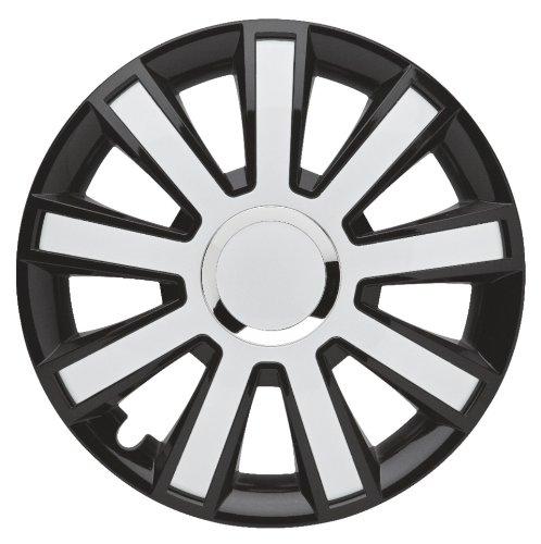 16 white hubcaps - 1
