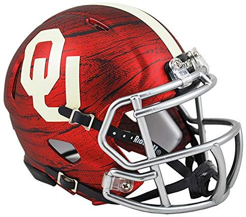 Riddell NCAA Oklahoma Sooners Helmet Mini Speed, One Size, Team Colors ()
