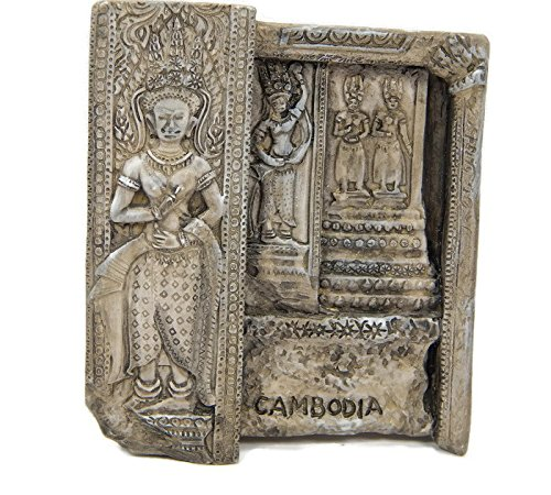 Souvenir Cambodia Khmer Angkor Wat 3d Fridge Magnet Magnetic Collectibles Gift 3d