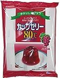 かんてんぱぱ カップゼリー ぶどう味100gX5袋
