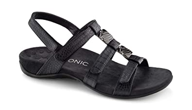 073fa4c9480b Image Unavailable. Image not available for. Color  Vionic Women s Women s Rest  Amber Backstrap Sandal ...