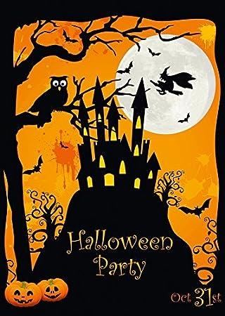 8 Er Set Gruselige Halloween Einladungskarten: Einladungen Zur Nächsten  Halloween Party Von