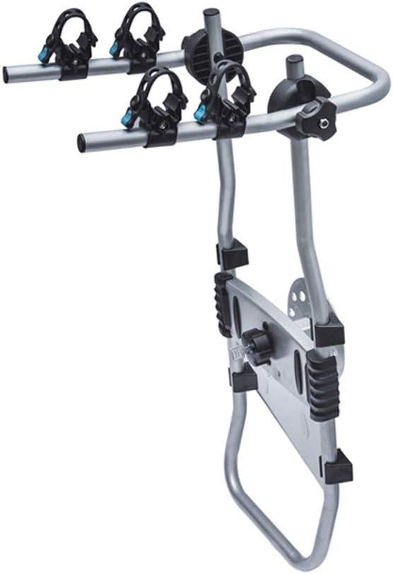 Portabicicletas Porton Trasero Universal 2 Bicis Coche de rueda de repuesto trasera Portabicis para coche Bicicletas Plegable Porta-Bicis auto Soporte de Bici baca para bicicletas Bike Acero Carga: Amazon.es: Hogar