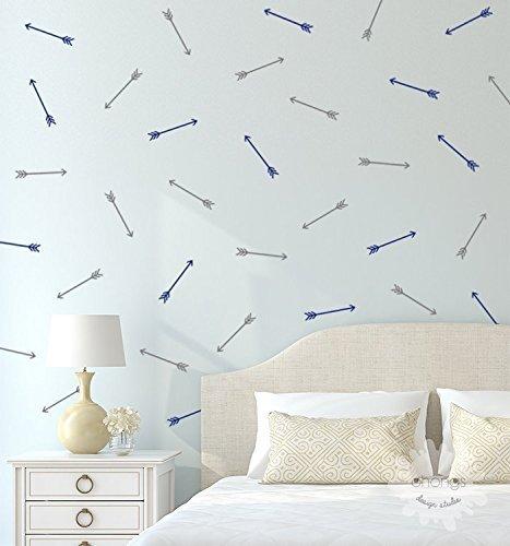 Arrow Wall Decal / 48 Arrow Wall Sticker / Arrow Wall Art / Home Decor