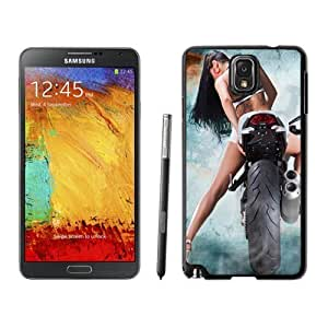 NEW Custom Diyed Diy For LG G3 Case Cover Phone With Sexy Biker Chick Back Tattoo_Black Phone