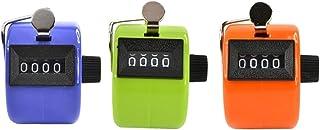Somnr® Lot de 3Couleur Handheld Compteur avec 4chiffres Affichage pour Lap/sport/Coach/école/CAS