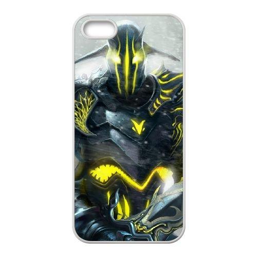 Sven Dota 2 Art 95091 coque iPhone 5 5s cellulaire cas coque de téléphone cas blanche couverture de téléphone portable EEECBCAAN07563