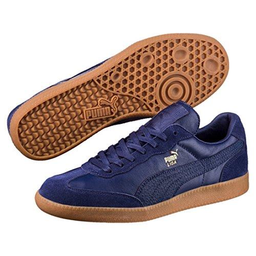 Blautöne Sneaker Liga Unisex Erwachsene Leather Puma OnwTW5