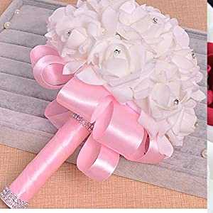 Artificial Bridal Bouquet Foam Sources of Foreign Trade Bride Holding Flowers Holding Flowers Crystal Wedding Bouquets 3