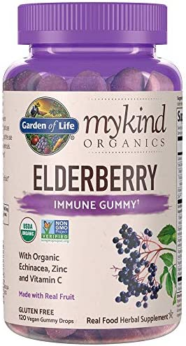 Garden Life Organics Elderberry Echinacea