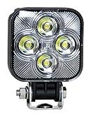 Maxxima MWL-20FB 4 LED Square Mini Flood & Focus Beam Work Light 800 Lumens