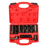 8milelake 10pcs Oxygen Sensor Socket Set Sensor Oil Pressure Sending Unit Socket Set