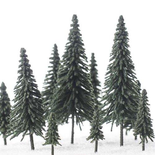 Flocked Pine Tree - 6