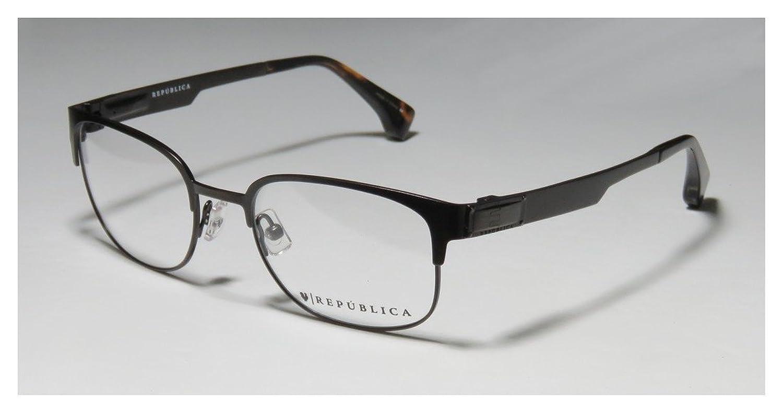 REPUBLICA Eyeglasses BOSTON Brown 50MM at Amazon Men\'s Clothing ...