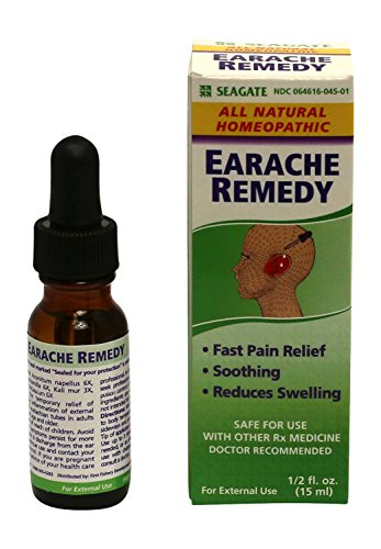 Seagate Products Homeopathic Olive Leaf Extract Earache Remedy 0.5 oz (Pack of 1) (Best Earache Medicine Over The Counter)