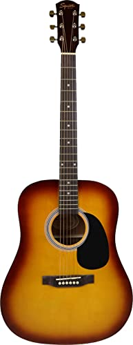 front facing fender fa-115 acoustic guitar