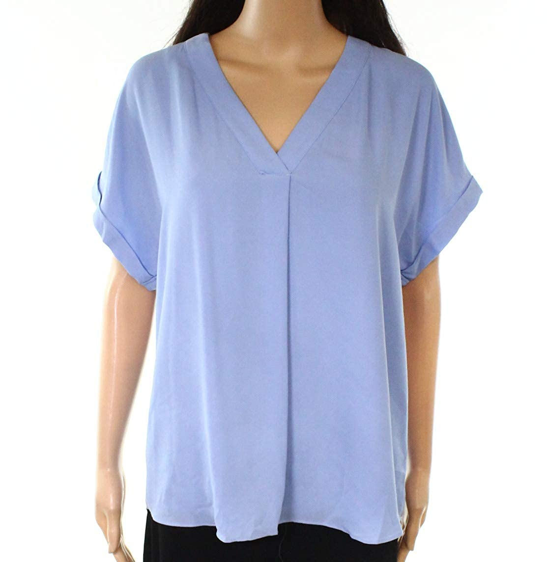 bluee Lauren Ralph Lauren Womens Work Wear Office Blouse