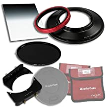 Fotodiox WPFA-CA14-Esntl9SE WonderPana 66 FreeArc Essentials ND 0.9SE Kit for Canon 14mm Super Wide Angle EF F/2.8L II USM Lens, Full Frame 35mm (Black)