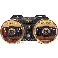 Maxkore MK4K 4-Gauge Copper Maxkore Amplifier Kit