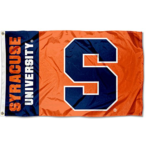 (College Flags and Banners Co. Syracuse Orange Flag )