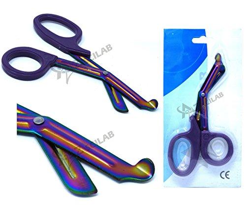 Heavy Duty Fluoride Coated Nurse Doctor Medical Paramedic Trauma Shears Scissors 7.25