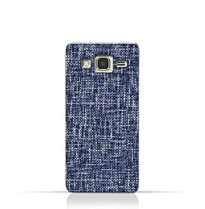 AMC Design Samsung Galaxy J3 (2016) TPU Silicone Case with Brushed Chambray Pattern