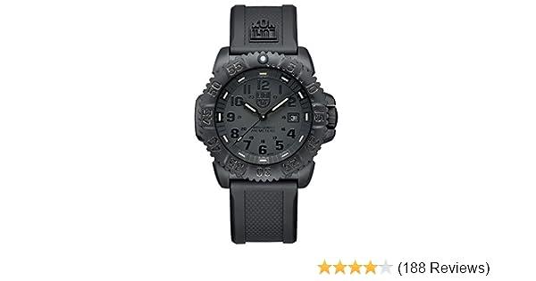 b36df9a44f0 Amazon.com  Luminox Men s 3051.BO Navy Seal Colormark 3050 Series ...
